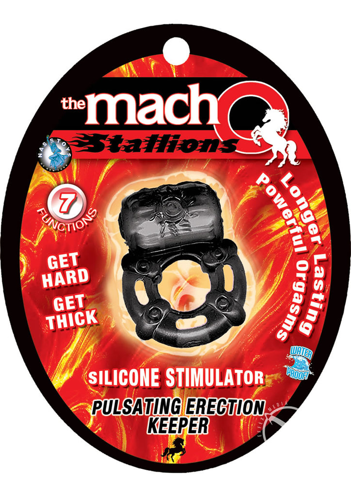 Macho Stallions Erection Keeper Black