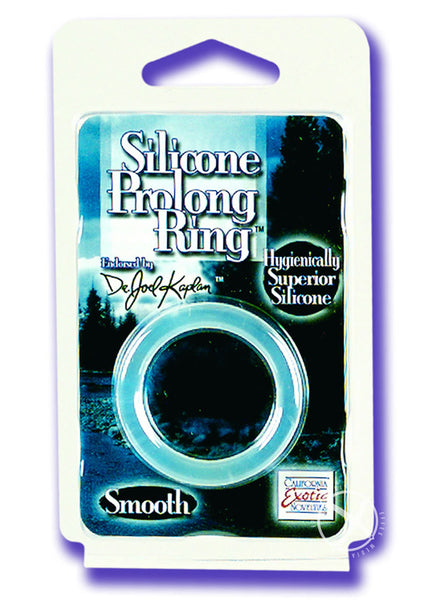 Silicone Prolong Ring Clear Dr Joel
