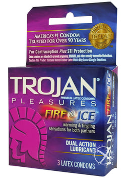 Trojan Fire And Ice 3`S - [product_type ] - Daily Sensations