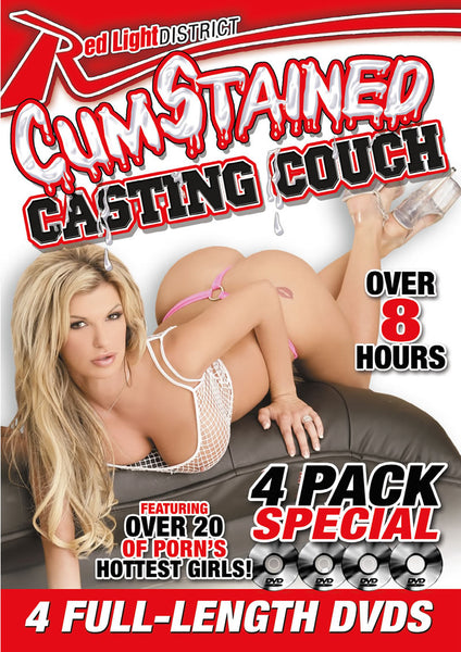Cum Stained Casting Couch 4 Pack