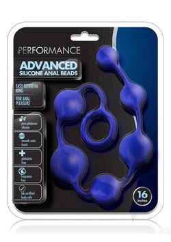 Performance Silicone Anal Beads 16