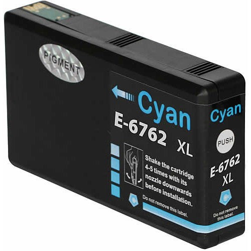 Epson 676XL New Compatible Cyan Ink Cartridges (Pigment based, same as OEM)
