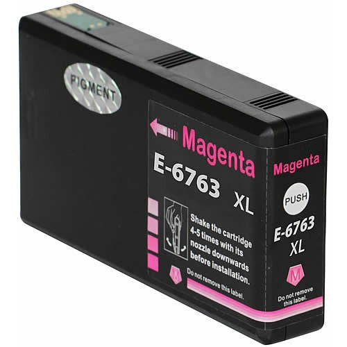 Epson 676XL New Compatible Magenta Ink Cartridges (Pigment based, same as OEM)