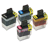 Brother Compatible LC41 INK / INKJET Cartridge Set Black Cyan Yellow Magenta