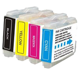 BROTHER LC51 Compatible INK / INKJET Cartridges Set Black Cyan Yellow Magenta