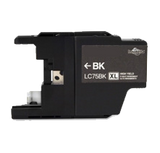 Brother Compatible LC75 BK Black High yield