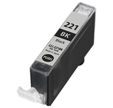 CANON Compatible CLI221BK  (With Chip)