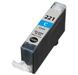 CANON Compatible CLI221C  Cyan (With Chip)