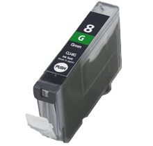 CANON Compatible CLI8G  Green (With Chip)