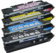 HP COMPATIBLE 3600 Laser Toner Cartridge Set Black Cyan Yellow Magenta