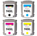 HP Compatible 940XL INK / INKJET Set Black Cyan Yellow Magenta