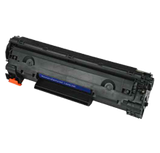 HP Compatible CE285A Black toner cartridge for use in HP Laserjet