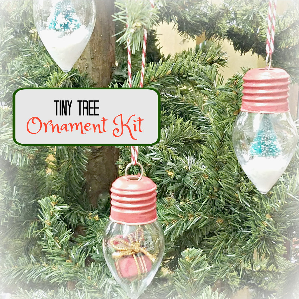 Do it yourself craft kits huckleberry junction mini tree ornament kit solutioingenieria Gallery
