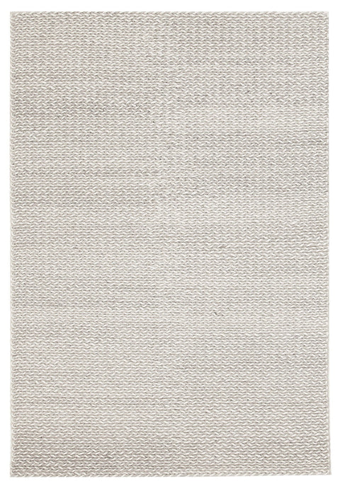 Airdrie Grey Braided Wool & Viscose Rug