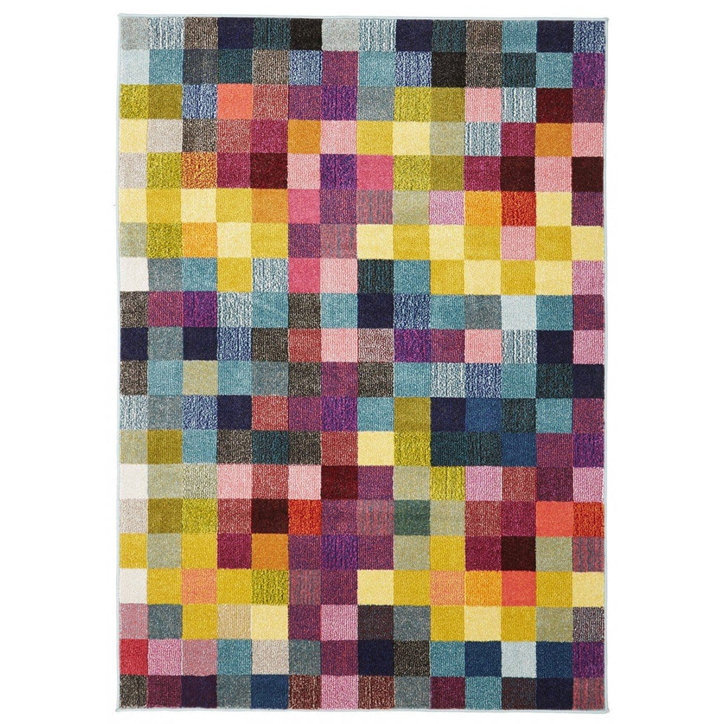 Berlin Bright Geometric Rug