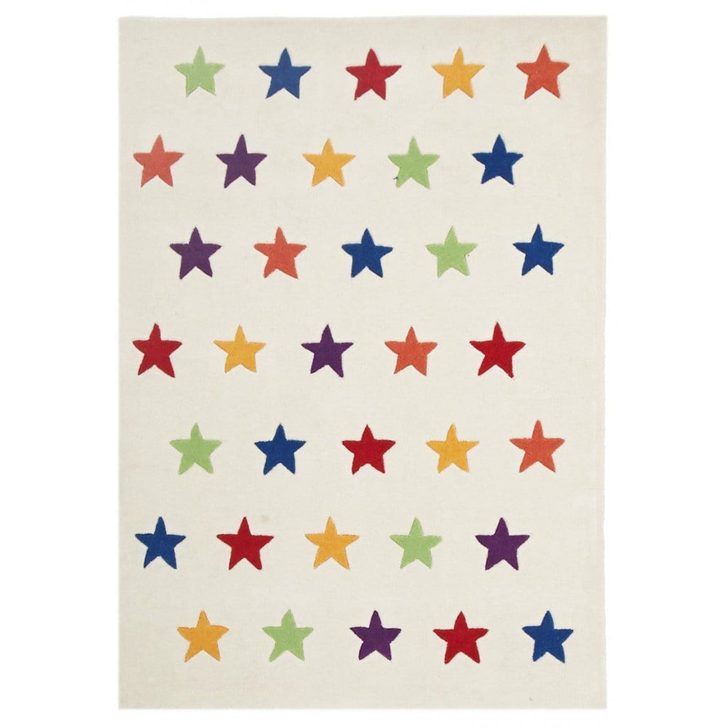 Capella Rainbow Stars Kids Rug
