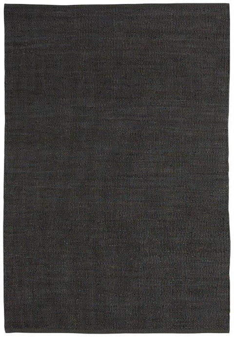 Chokio Charcoal Natural Jute Rug