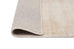 Claude Beige and Ivory Distressed Viscose Rug