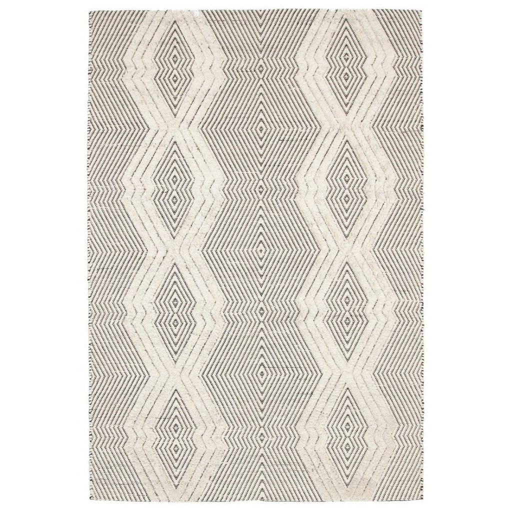 Denali Textured Diamond Tribal Rug