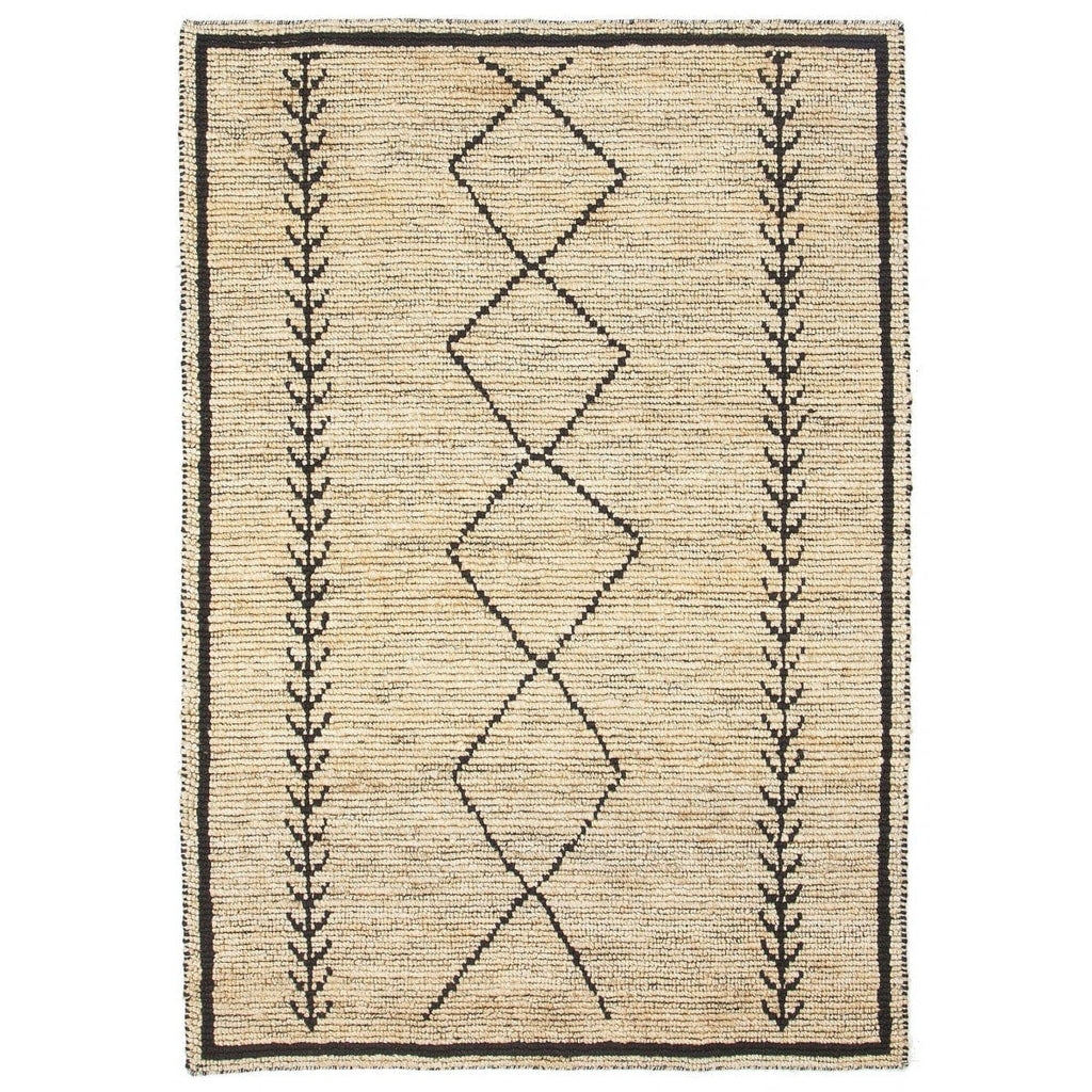 Embu Tribal Jute Floor Rug