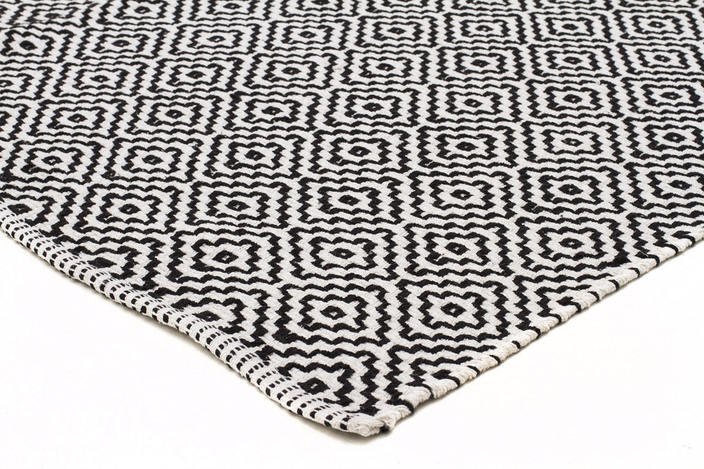 Black White Rugs