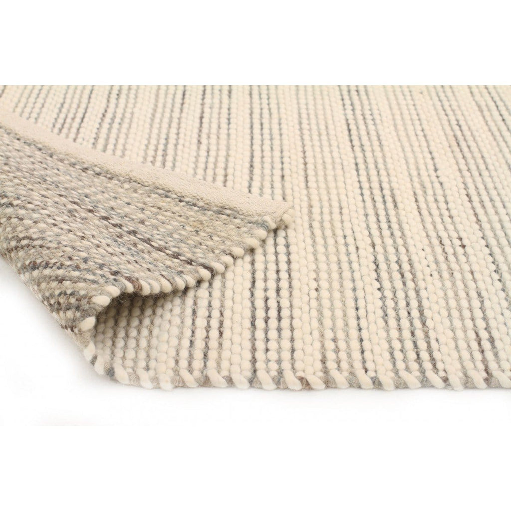Glencoe Cream Amp Grey Woven Wool Rug
