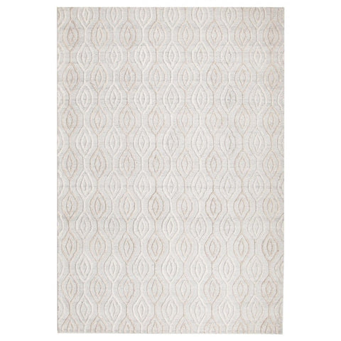 Hamden Raised Honeycomb Wool & Viscose Rug