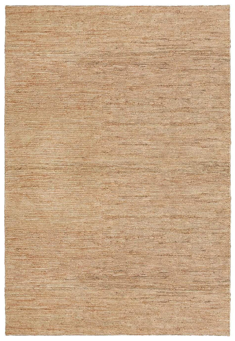 Raven Natural Tan Braided Jute Rug