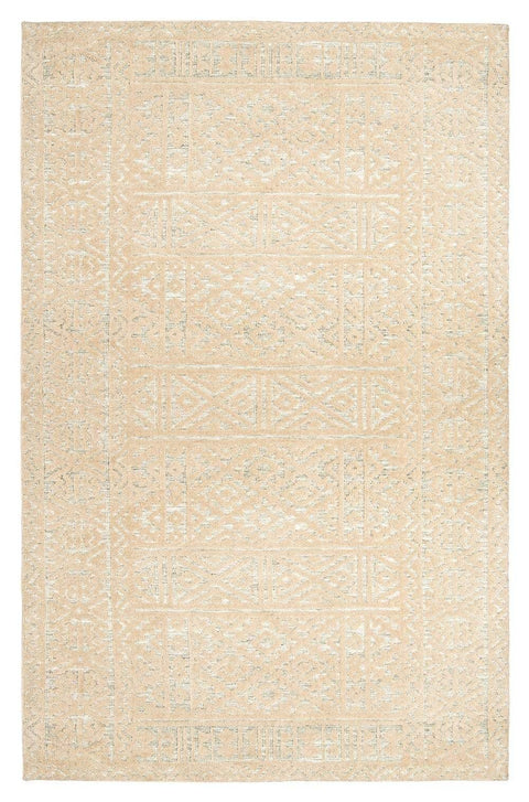 Kaia Beige Tribal Transitional Rug