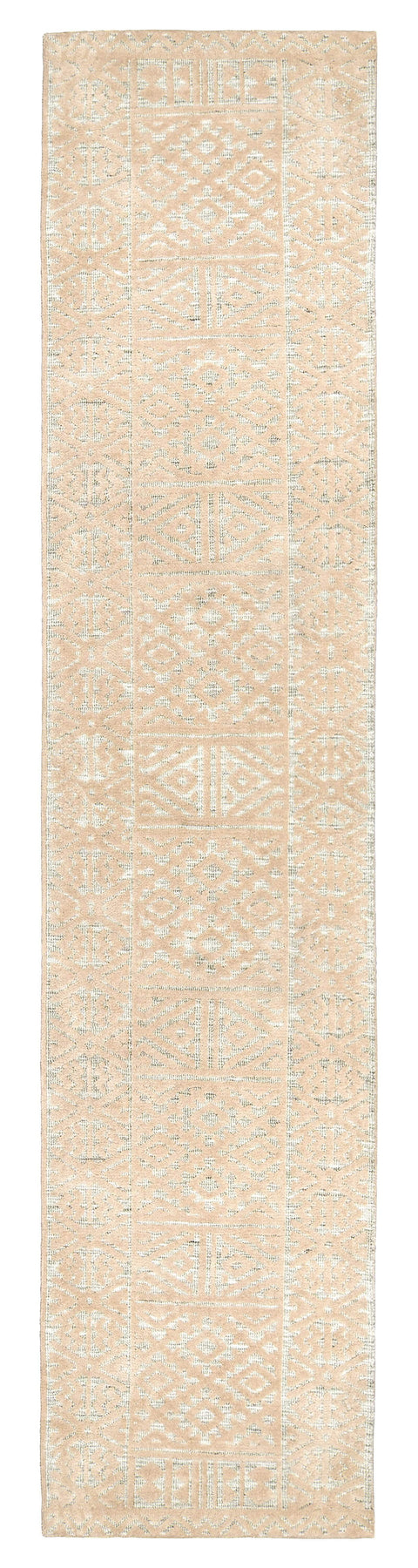 Kaia Beige Tribal Transitional Runner Rug