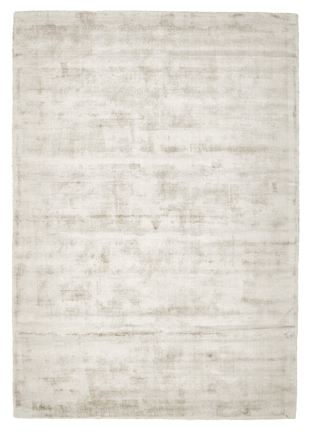 Killin Ivory Distressed Viscose Rug