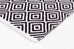 Lille Black & White Diamond Cotton Rug