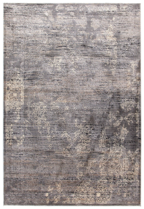 Maracay Grey Distressed Vintage Look Rug