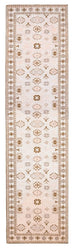 Mimi Peach and Beige Tribal Runner Rug