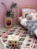 Nadia Multi Colour Geometric Tufted Rug