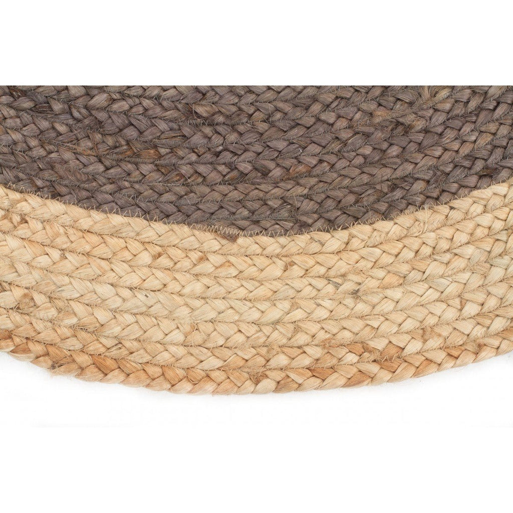 share jute htm round multicoloured rug natural rimo
