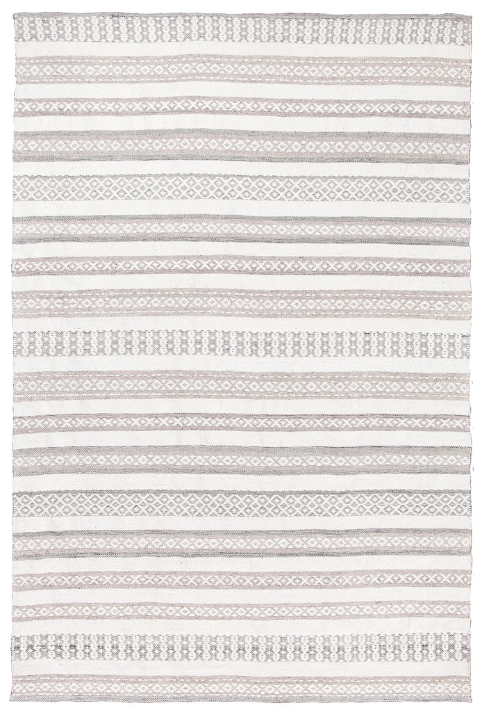 Violetta Beige & Grey Tribal Indoor Outdoor PET Rug