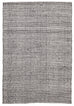 Visby Black Felted Wool & White Hand-Knotted Rug