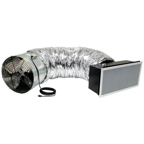 Tahoe T5 Whole House Fan Reliable Psc Motor Airloc