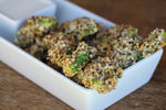 "Everything Nut Crumbs Avocado Wedge ""Fries"""