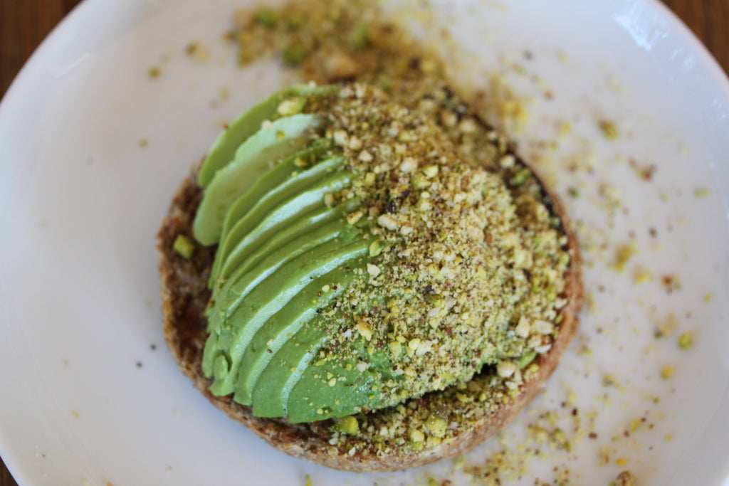 Nut Crumbs Avocado Toast