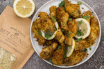 Crispy Lemon Curry Wings