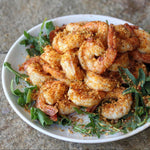 Old Bay Spicy Nut Crumbs Shrimp