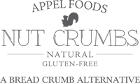 Nut Crumbs, a bread crumb alternative logo