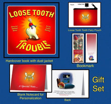 Gift set for kids who lose a tooth. Unique tooth fairy set.