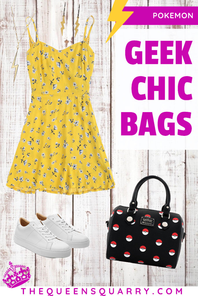Detective Pikachu Geek Chic Bags Fashion Tips (Pokemon)
