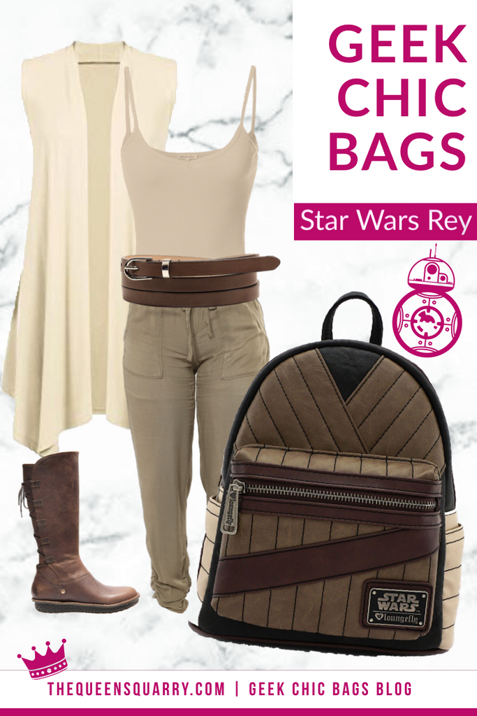 Geek Chic Fashion Tips (Star Wars, Rey)