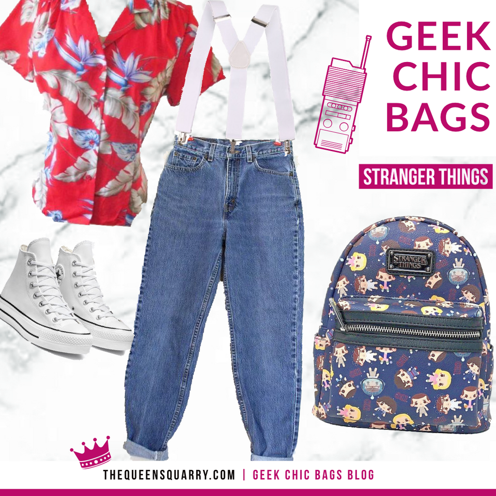 Geek Chic Fashion Tips (Stanger Things, Eleven)