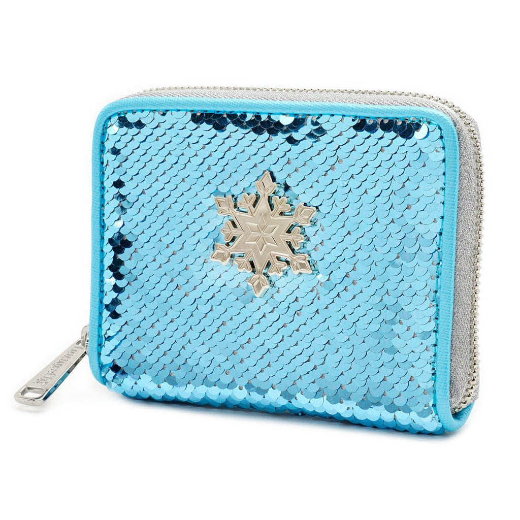 Disney by Loungefly - Frozen - Elsa Reversible Sequin Wallet