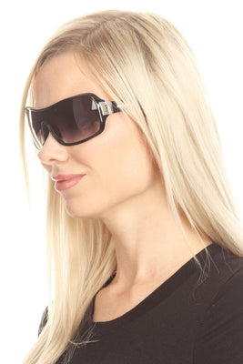 Women's Large Full Rim Sunglasses